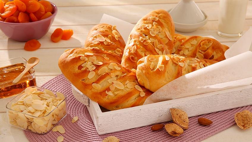 pain abricots amandes