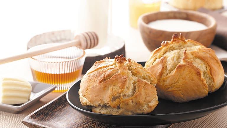 pain blanc au miel
